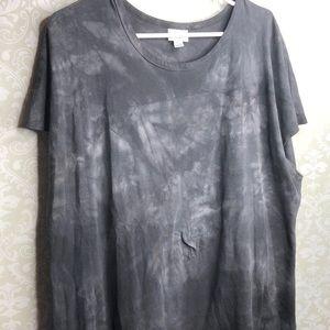 LuLaRoe Acid Washed Black Maria Dress